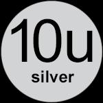 10u Silver logo
