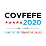 Covfefe - White logo