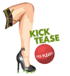 Kick Tease (Dark Purple) logo
