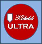 Kickelob Ultra (Burnt Orange) logo