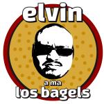 Elvin a ma Los Bagels logo