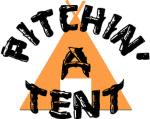 Pitchin' A Tent - Heather Team Purple logo