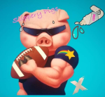Slippery Pigs logo