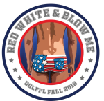 Red White & Blow Me logo