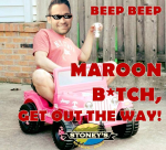Maroon B*tch, Get Out The Way! logo
