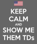 Show Me Those TeeDeez (Navy) logo