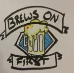 Brews on First (Green) logo