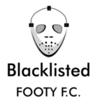 BLACKLISTED FOOTY F.C. logo