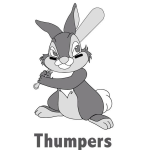 Thumpers logo