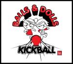 Balls & Dolls (Red) logo
