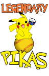 Houston Legend-ary Pikas logo