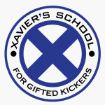 Xavier's School for Gifted Kickers logo