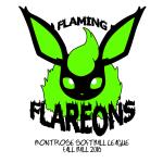 Flaming Flareons logo