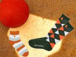 We Wear Business Socks (Burnt Orange) logo