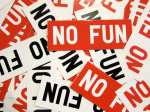 Team No Fun logo