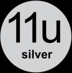 11u Silver logo