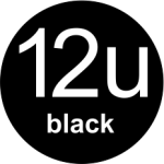 12u Black logo