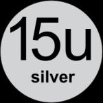 15u Silver logo