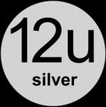 12U Silver logo