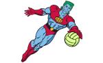 Captain Planet (Maroon) logo