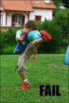 Fresh Kicks of Ball Air (Tan) logo